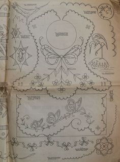 Embroidery pattern on bibs Cutwork Embroidery, Baby Embroidery, Embroidery Transfers, Hand Embroidery Patterns, White Embroidery, Vintage Embroidery, Embroidery Stitches, Machine Embroidery, Baby Bibs Patterns