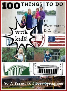 All the family-friendly - and many of them FREE! - stuff to do with kids in the DC area.