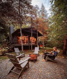 Building A Cabin, Cabin In The Woods, Little Cabin, Tiny House Movement, Backyard, Patio, Cozy Cabin, Cabin Tent, Cabin Plans
