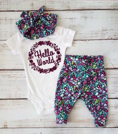 Baby Outfits Crochet Ideas, Baby Outfits Summer Ideas Source by addidies Cute Baby Girl, Baby Love, Cute Babies, Pretty Baby, Baby Girl Fashion, Kids Fashion, Toddler Fashion, Going Home Outfit, Baby Kids Clothes