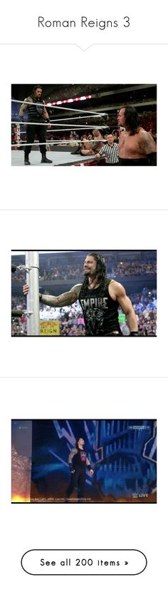 """""""Roman Reigns 3"""" by dani-loves-wwe-music ❤ liked on Polyvore featuring home, home decor and roman reigns"""