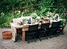 #al-fresco, #outdoor-dinner-party  Photography: Clayton Austin - loveisabird.com  Read More: http://www.stylemepretty.com/living/2013/10/04/an-intimate-farm-to-table-dinner-party/
