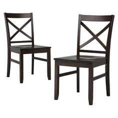 Carey Dining Chair - (Set of 2) - Threshold™. Image 1 of 2.