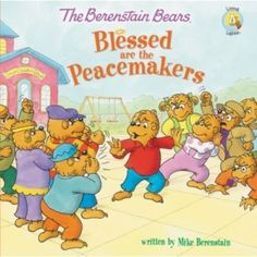 We love the Berenstain Bears in our house! I grew up on them so it makes reading them to my kids even more special. Blessed are the Peacemakers is the latest edition in this beloved series and we sat down to read it together as a family.