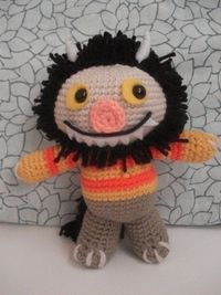 Baby Moishe/Carol from Where the Wild Things are crochet pattern