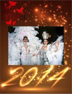Lia Victoria Borrero y Diana Mercedes Cano Reinas de Calle Abajo celebran #AñoNuevo  1996.