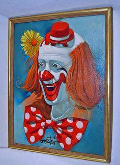 212 Best clown paintings images in 2019   Clown paintings