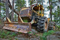 tree farmer (an old skidder) | Flickr - Photo Sharing!