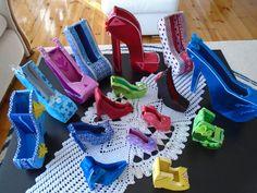 autor Basia P. 2016r buty wykonane z kartonu