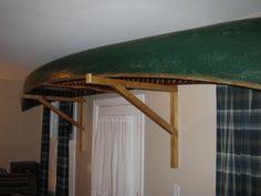 DIY Canoe Storage Rack