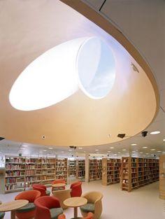 Rauma Main Library, Rauma, Finland - LAHDELMA & MAHLAMÄKI ARCHITECTS