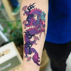 😈😈😈 Aug go to Melbourne work at   and Aug sydney   Contact Dm or kakao please! Time Tattoos, Body Art Tattoos, Sleeve Tattoos, Dragon Tattoo Colour, Color Tattoo, Tribal Wolf Tattoo, Wolf Tattoos, Tribal Tattoos, Tatoos
