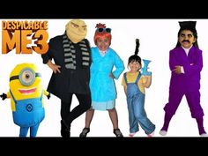 Despicable Me 3 Halloween Costumes and Toys - YouTube