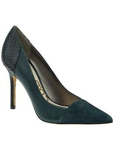 Always wanted green suade pumps. Sam Edelman Desiree | Piperlime