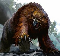 The 10 Most Memorable Dungeons & Dragons Monsters - Owlbear monster beast creature animal | Create your own roleplaying game material w/ RPG Bard: www.rpgbard.com | Writing inspiration for Dungeons and Dragons DND D&D Pathfinder PFRPG Warhammer 40k Star Wars Shadowrun Call of Cthulhu Lord of the Rings LoTR + d20 fantasy science fiction scifi horror design | Not Trusty Sword art: click artwork for source