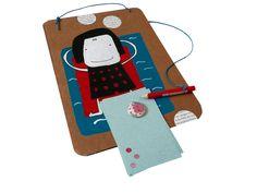 Ablagen - Upcycling Magnetboard Mädchenträume - ein Designerstück von Kirschblueten-Tsunami bei DaWanda