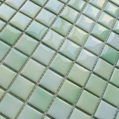 FREE SHIPPING Porcelain kitchen tiles backsplash ceramic mosaic tiles green bathroom wall tiles PCMT031