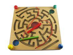 出口外贸高档木制磁性运笔迷宫 迷宫玩具 儿童早教益智玩具1-3岁