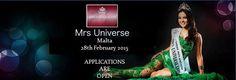 Banner Mrs Universe Malta 2015