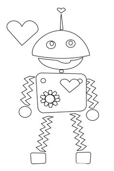 3 {Non-Mushy} Valentines Day Coloring Pages | Kids Activities Blog