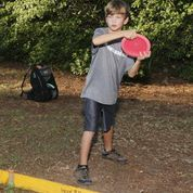 #DiskGolf is fun for all ages! Free and open to the public! #OrangeBeach