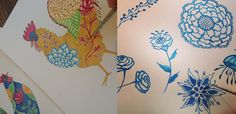 new art & news from the studio! ~Multiple Blessings by Caroline Simas