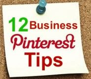 12 Pinterest Tips for Business Users