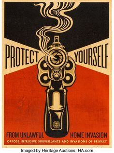 Home Invasion Red Shepard Fairey Print S/N 2014 signed numbered limited edition poster for sale buy purchase art Shepard Fairey Posters, Shepard Fairey Obey, The Future Is Now, Poster Prints, Art Prints, Sale Poster, Screen Printing, Art Decor, Auction