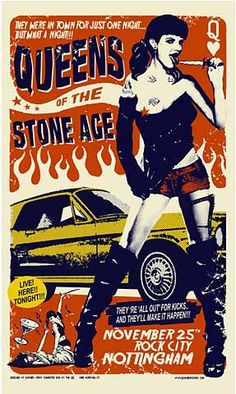 Queens of the Stone Age - Concert Poster (Rock City Nottingham)