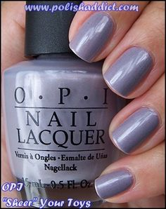 opi - sheer your toys