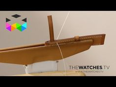 How is a Hermès leather strap crafted, part 2 - YouTube