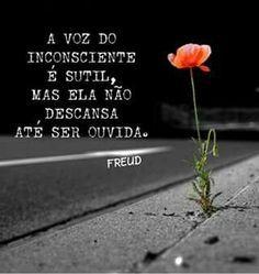 Pra você Sigmund Freud, Psychology Facts, Beauty Quotes, Some Words, Sentences, Inspirational Quotes, Wisdom, Positivity, Messages
