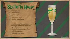 15 Magical Harry Potter Cocktails to Charm Your Palate - For Harry Potter& birthday, cast a banishing charm on butterbeer in favor of something a - Harry Potter Cocktails, Harry Potter Food, Harry Potter Wedding, Harry Potter Theme, Harry Potter Marathon, Disney Drinks, Slytherin House, Slytherin Pride, Vegan Recipes