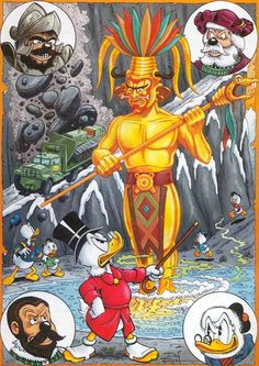 The Gilded Man By Don Rosa