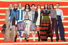 Would we contemplating brightly colored sweaters and gold lamé skirts if it weren't for Gucci? http://bit.ly/1j7yM7Z