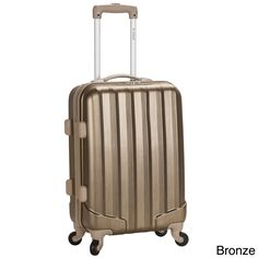 Rockland 20-inch Expandable Hardside Spinner Carry-on Upright | Overstock.com Shopping - The Best Deals on Carry On Upright Luggage