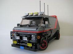 Lego A-team Van