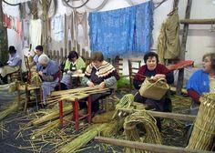 Villanova di Bagnacavallo (Ravenna, Emilia Romagna) - in epoca preindustriale si realizzavano manufatti con le 5 erbe di valle, legno di pioppo e salice.