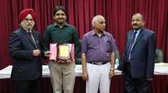 Dr. Balaji Pulagam receiving certificate of Fellowship in Minimal Access Surgery at World Laparoscopy Hospital. For more detail please log on to www.laparoscopyhospital.com