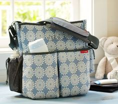 These diaper bags are well-organized, full of pockets, and trendy. They'll add some colour to your everyday errands.