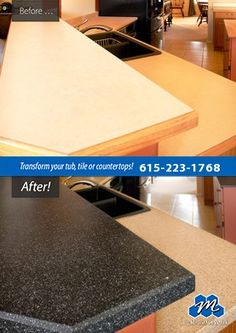 Don't replace - refinish! : If you are looking for affordable countertop refinishing solutions in Nashville, TN, call Miracle Method of Nashville. We refinish countertops and save you time and money!
