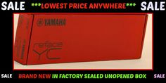YAMAHA REFACE YC (RED) Combo Organ BRAND NEW IN SEALED BOX $400 ITEM Bid @ $269 #Yamaha