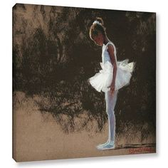 """Latitude Run Anticipation Painting Print on Wrapped Canvas Size: 24"""" H x 24"""" W x 2"""" D"""