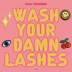 """Dallas Lash Artist on Instagram: """"When should you wash your lashes? * In the morning when you wash your face. * after working out * After Crying * After taking off all your…"""" Lash Quotes, Wash Your Face, Beauty Bar, Eyelash Extensions, Eyelashes, Badass, Dallas, Crying, Aesthetics"""