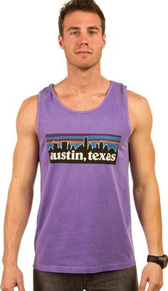 Stay cool in your favorite city in the Austin Texas Skyline Tank Top from Comfort Colors! Extra soft and featuring a colorful ATX design! Order now!
