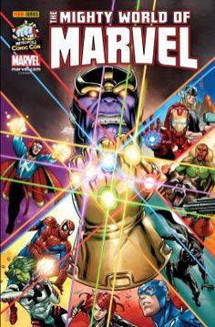 For Metrópoli Comic Con Thanos Marvel, Hq Marvel, Disney Marvel, Marvel Dc Comics, Captain Marvel, Xmen, Comic Book Covers, Comic Books Art, Comic Art