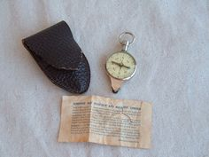 Vintage Compass and Map Measure Made in WEST by DivaInTheDell #compass #vintagecompass #giftsforhim