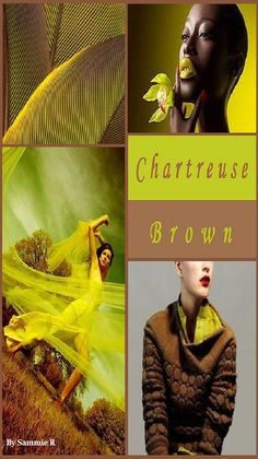 Chartreuse and Brown By Sammie R