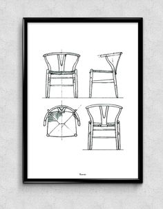Wegner Y-Chair - Available at www.bomedo.com