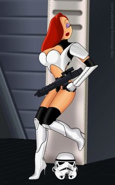 Jessica Rabbit Stars in Star Wars, TRON, and More! [Fan Art]